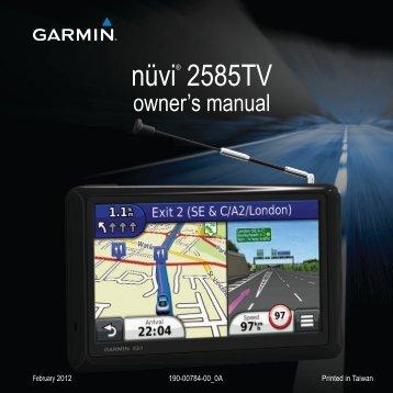 Garmin nüvi® 2585TV, MapSource Product Creator - Owner's Manual