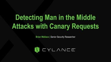 Attacks with Canary Requests