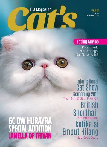 Cat Magazine First Edition October 2016