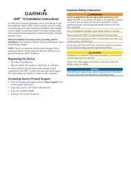 Garmin GHP™ 12 Autopilot System - Installation Instructions