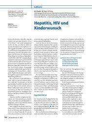 Hepatitis, HIV und Kinderwunsch - IVF Kinderwunschzentrum ...