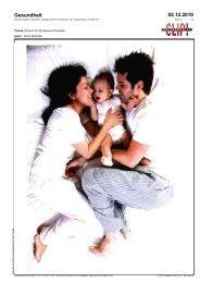 Gesundheit 02.12.2010 - IMI
