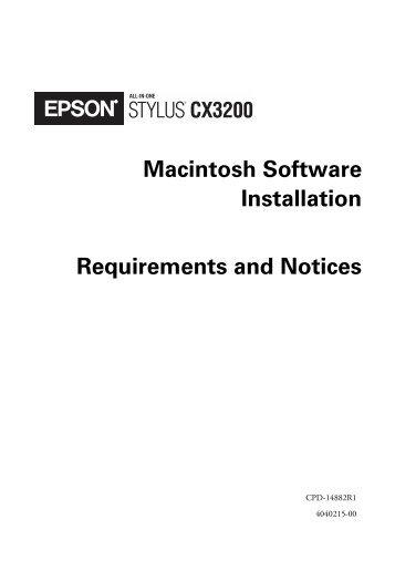 Epson stylus cx3200 scanner driver xp.
