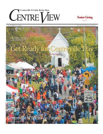 Get Ready for Centreville Day
