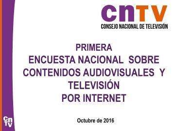 CONTENIDOS AUDIOVISUALES Y TELEVISIÓN POR INTERNET