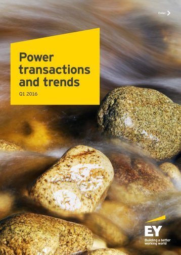 Power transactions and trends