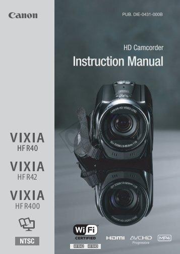 instruction manual canon europe rh yumpu com canon fs200 instruction manual canon fs100 manual pdf