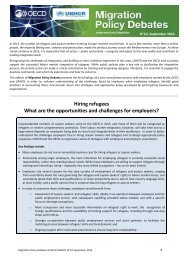 Hiring refugees What are the opportunities and challenges for employers?