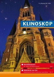 Klinoskop Nr. 5/2008 ( 2.4 MB im PDF - Klinikum Chemnitz