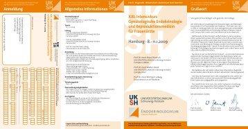 XXI. Intensivkurs Gynäkologische Endokrinologie und ...