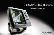 Garmin GPSMAP 525/525s - Owner's Manual