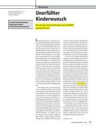 Unerfüllter Kinderwunsch - BKiD - Beratungsnetzwerk ...
