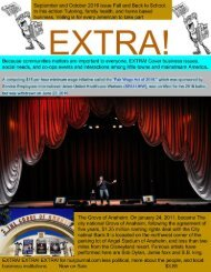EXTRA! September and October issue 5 connecting people to small business