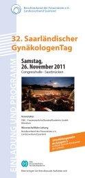32. Saarländischer GynäkologenTag - Landesverband Saarland