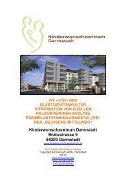 Kleinen Broschüre - Kinderwunschzentrum Darmstadt