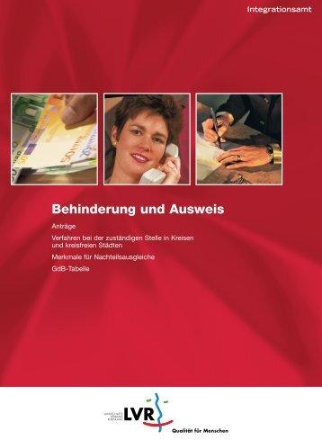 Behinderung und Ausweis - AGSV NRW