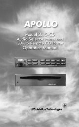 Garmin SL 15M - SL15-CD and CD15 Operation Manual
