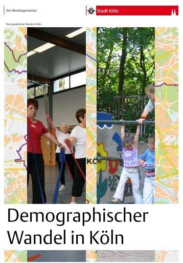 Handlungskonzept Demographischer Wandel - Stadt Köln