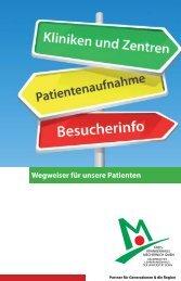 Wegweiser für unsere Patienten - Kreiskrankenhaus Mechernich