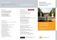 Symposium Endokrinologikum Hannover 2012 11. Hannoveraner ...