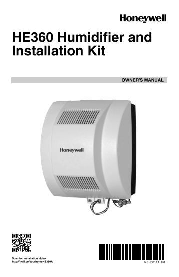 humidistats nortec humidifier parts honeywell h360 power flow through humidifier he360a he360 humidifier and installation kit owner s