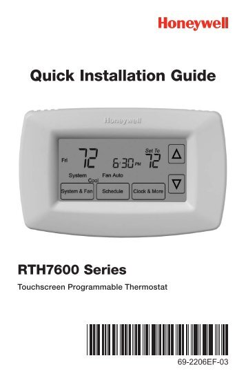Typical wiring diagrams g honeywell 7 day programmable thermostat rth7600d 7 day programmable thermostat installation asfbconference2016 Images