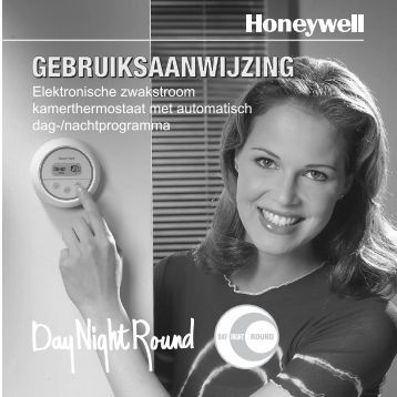 Honeywell Round® Non-Programmable Thermostat - Round Non-Programmable Thermostat Owner's Manual (Afrikaans)