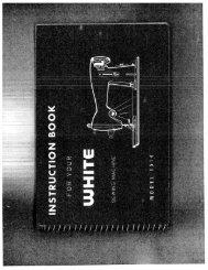 Singer W1514 - English - User Manual
