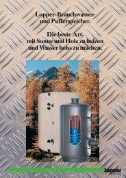 Broschüre Lopper Speicher - Hohage & Co.