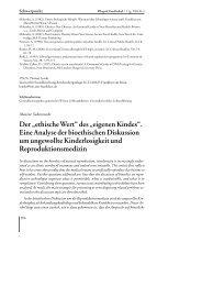 """Der """"ethische Wert"""" des """"eigenen Kindes"""". - Deutsche Gesellschaft ..."""
