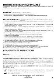 Singer 8770   CURVY™ - English, French, Spanish - User Manual