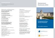 Symposium Karlsruhe 2012 - My Medical Education