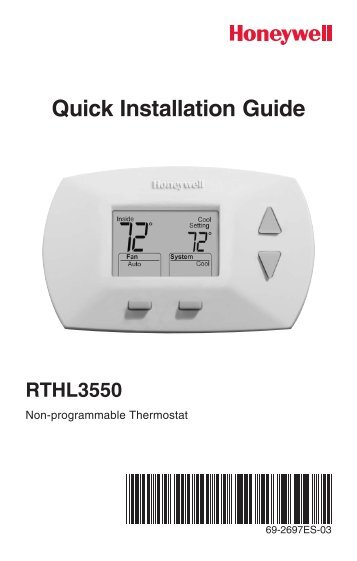 honeywell deluxe digital non programmable thermostat rthl3550d deluxe digital non programmable thermostat installation manual englishspanish?quality\\\\\\\=80 honeywell 812 thermostat wiring diagram thermostat wiring color Heat Pump Thermostat Wiring Diagrams at gsmportal.co