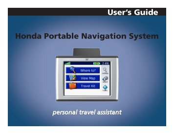 gps navigator garmin nuvi 715 maps navlux with bluetooth rh yumpu com Garmin G3 GPS User Manual Garmin G3 GPS User Manual