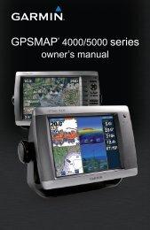 Garmin GPSMAP® 5012 (Multiple Station Display) - Owner's Manual