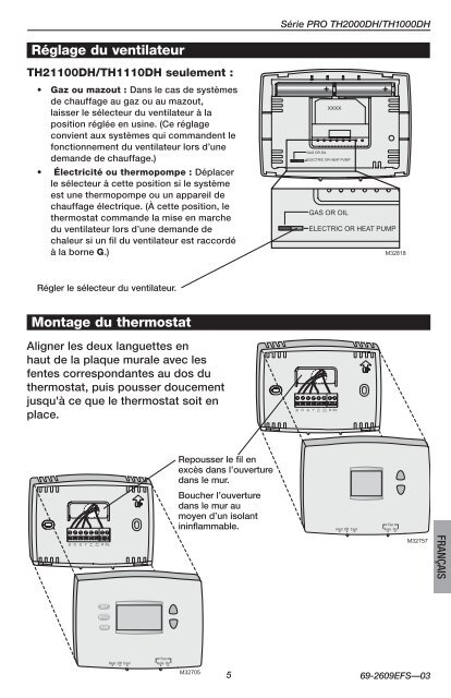 Honeywell Pro Non Programmable Thermostat Manual Guide