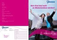Kein Kind darf mehr an Mukoviszidose sterben! Jahresbericht 2007 ...