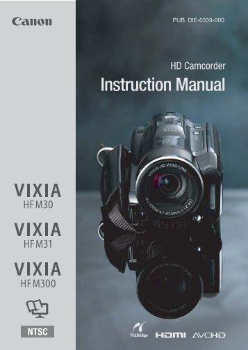 canon vixia hf s200 manual