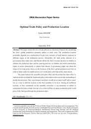 Optimal Trade Policy and Production Location