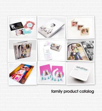 Family Product Catalog