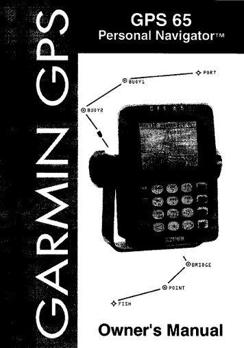 owner s manual gps central rh yumpu com Mounting Bracket Garmin 128 garmin gps 126 user manual