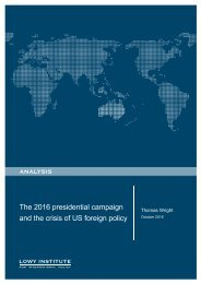 The 2016 presidential campaign and the crisis of US foreign policy