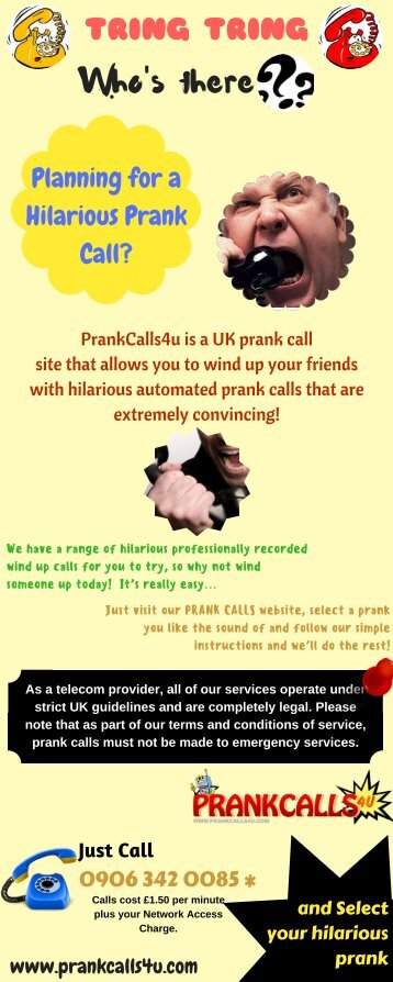 3 free Magazines from PRANKCALLS4U