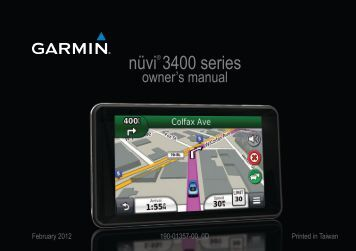 garmin nuvi 2509 user manual