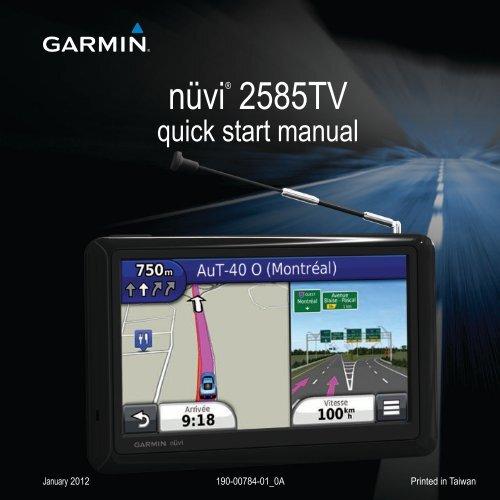 Garmin nüvi® 2585TV, MapSource Product Creator - Quick Start Manual