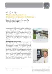 Modernstes Krankenhaus Deutschlands digitalisiert Radiologie