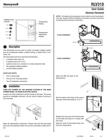 honeywell room thermostat wiring diagram wiring diagram and help needed wiring a honeywell t6360 room thermostat diynot forums