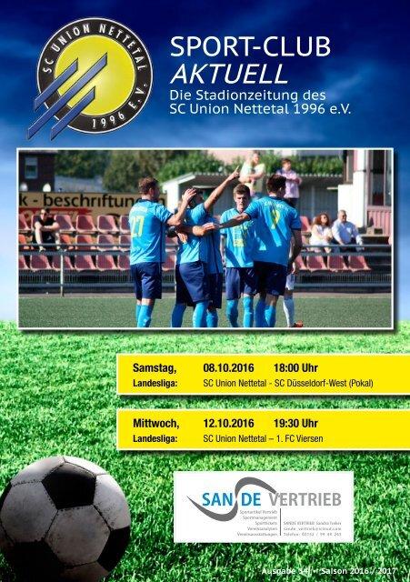 Sport Club Aktuell - Ausgabe 33 - 21.09.2016 / 25.09.2016