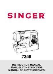 Singer Stylist Combo - English - User Manual