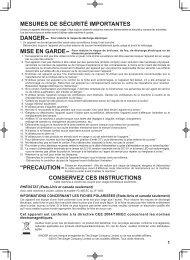 Singer 7422   ADVANCE™ - English, French, Spanish - User Manual